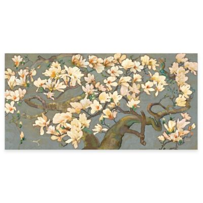 Marmont Hill Magnolia Branches IV 60-Inch x 30-Inch Canvas Wall Art