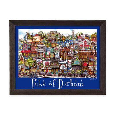 PubsOf Durham Framed Poster Wall Art