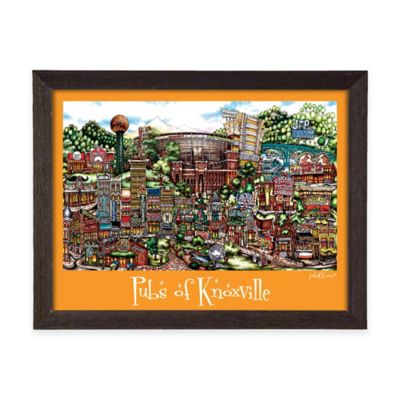 PubsOf Knoxville Framed Poster Wall Art