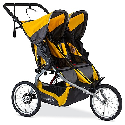 BOB® IRONMAN Duallie Jogging Stroller in Yellow - buybuy BABY