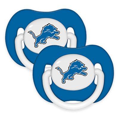 NFL Detroit Lions 2-Pack Pacifiers