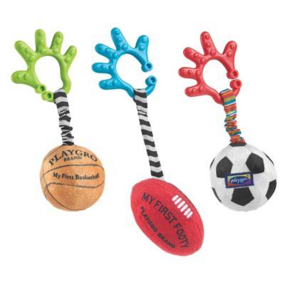Playgro™ 3-Piece Sports Balls Activity Toy Set