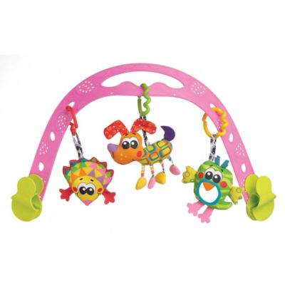 Playgro™ Animal Friends Travel Play Arch in Pink/Multi