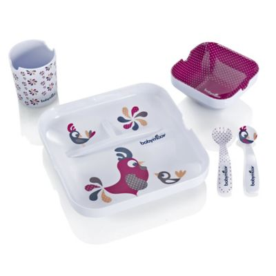 babymoov® 5-Piece Lunch Feeding Set in Lovely Bird