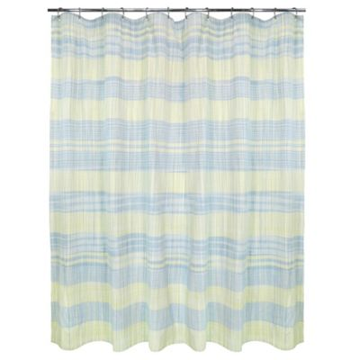 Sumatra Shower Curtain in Yellow/Blue
