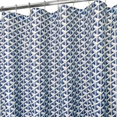 Arrowhead Shower Curtain in Navy