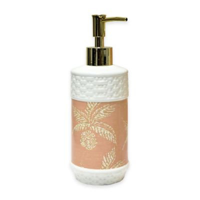 Pineapple Paradise Porcelain Lotion Dispenser
