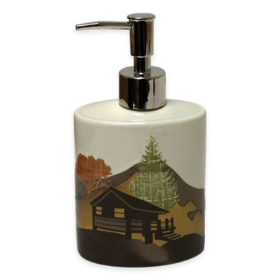 Mountainview Ceramic Lotion Dispenser
