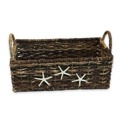 Metallic Wicker Baskets
