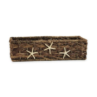 Starfish Woven Tank Basket