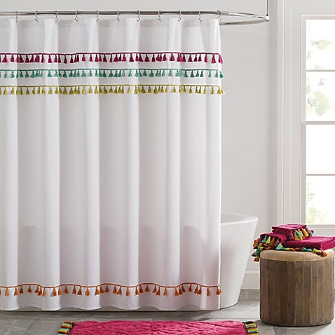 Buy Tassels Shower Curtain From Bed Bath Amp Beyond