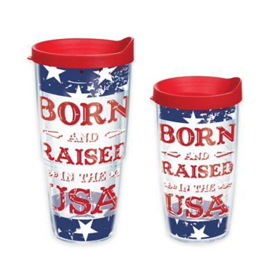 Tervis® Born and Raised in the USA 16 oz. Wrap Tumbler with Lid