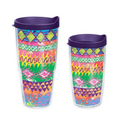 Tervis® Bright Tribal Print 16 oz. Wrap Tumbler with Lid