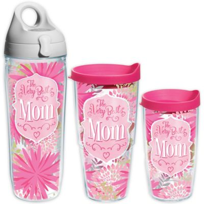 """Tervis® """"The Very Best Mom"""" Wrap 24 oz. Tumbler with Lid"""