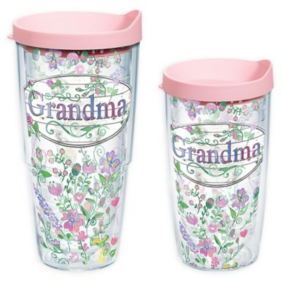 Tervis® Grandma Flowers 16 oz. Wrap Tumbler with Lid