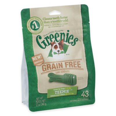 Greenies® Teenie 43-Count Grain-Free Canine Dental Chew Treats