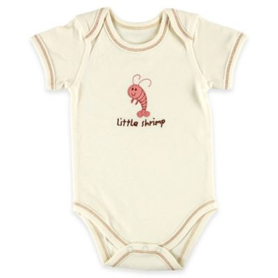 "BabyVision® Touched by Nature Size 0-3M ""Little Shrimp"" Organic Cotton Bodysuit"