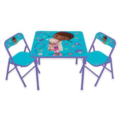 Doc McStuffins 3-Piece Activity Table and Chairs Set