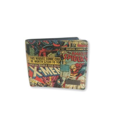 Marvel Comic® Retro Wallet with Outside Print