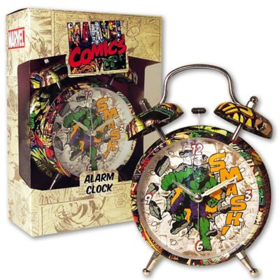 Marvel® Hulk 4-Inch Alarm Clock