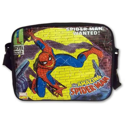 Marvel Comics Close-Up Spider-Man Messenger Bag