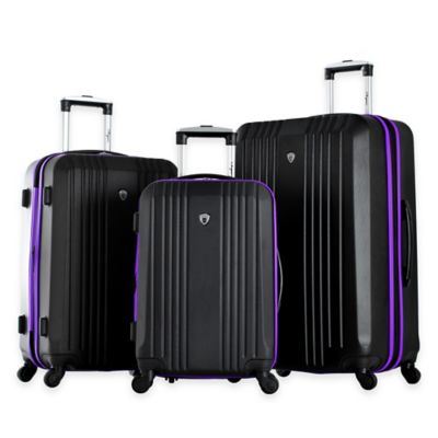Black/Blue Luggage Sets