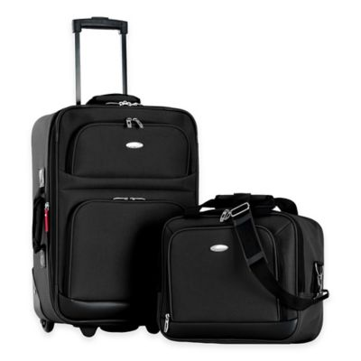 Black and White Luggage