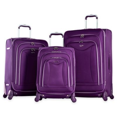 Hot Pink Luggage