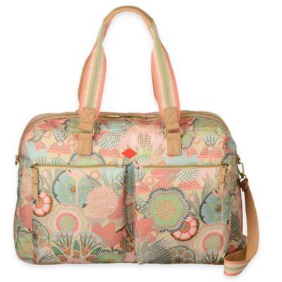 Oilily® Spiro Flower Weekender Travel Bag in Peach