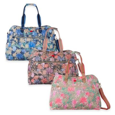 Oilily® Flower Field Weekender Travel Bag in Melon
