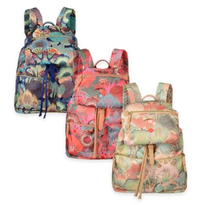 Oilily® Spiro Flower Backpack in Peach Rose