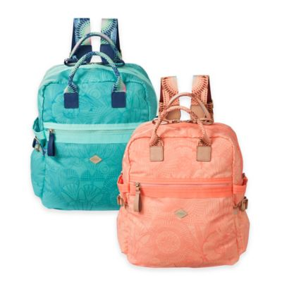 Oilily® Spiro Lines Backpack in Cherrywood