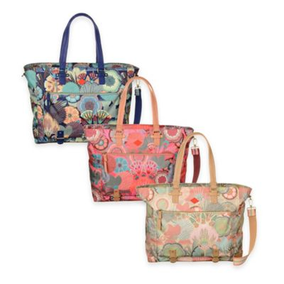 Oilily® Spiro Flowers Carry All Totes