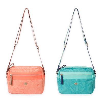 Oilily® Spiro Lines Small Shoulder Bag in Mint Leaf