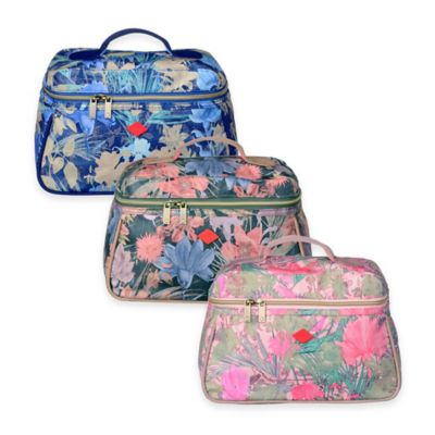 Oilily® Flower Field Beauty Bag in Melon