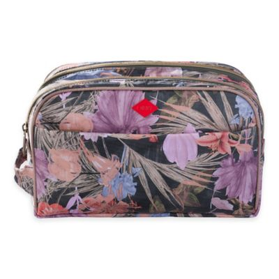 Oilily® Flower Field Pocket Cosmetic Bag in Fig