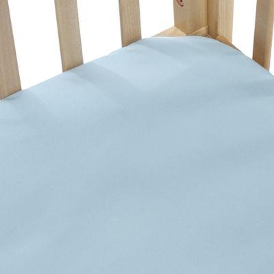 bb Basics Cradle Sheet in Blue