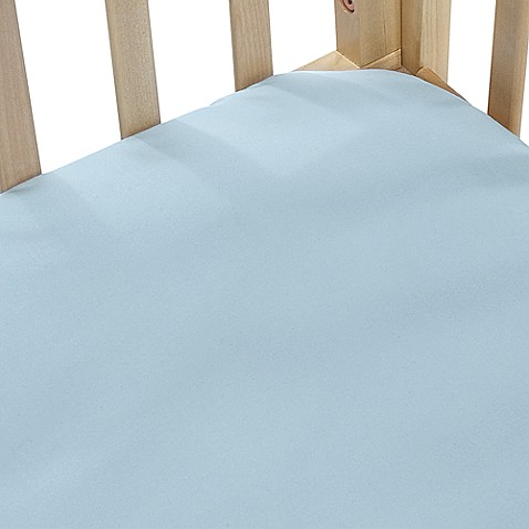 bb Basics Cradle Sheet in Blue