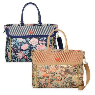 Oilily® Spring Blossom Office Bag in Lagoon