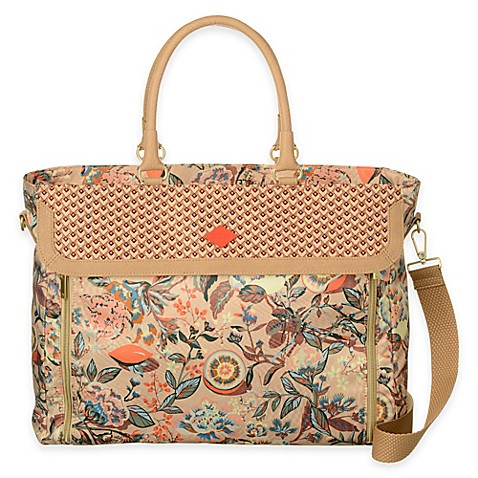 Buy Oilily® Spring Blossom Office Bag in Hazel from Bed ...
