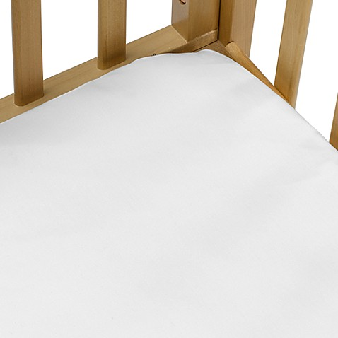 bb Basics Cradle Sheet in White