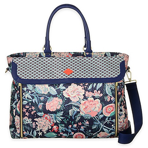 Buy Oilily® Spring Blossom Office Bag in Lagoon from Bed ...
