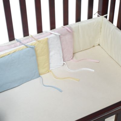 Baby Bedding Accessories > bb Basics Crib Bumper in Ivory