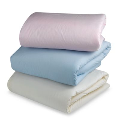Baby Blankets > bb Basics Crib Comforter in Blue
