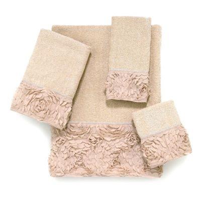 Avanti Mademoiselle Linen Washcloth