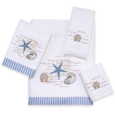 Capri Bath Towel in White
