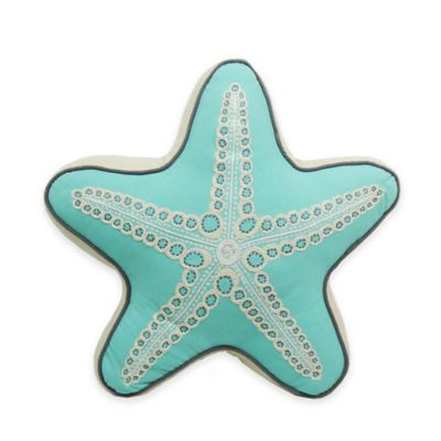 Newport Starfish Shaped Throw Pillow