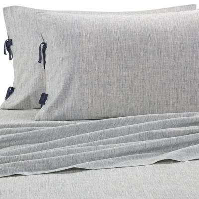 ED Ellen DeGeneres Bleu Twin Sheet Set in Grey