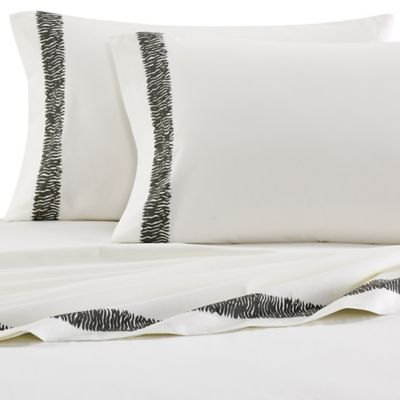 ED Ellen DeGeneres Mombasa Twin Sheet Set in Dust/Beige