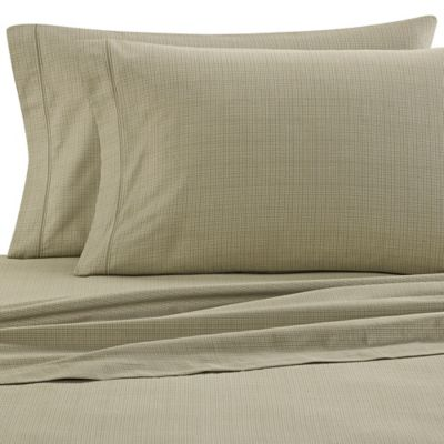 ED Ellen DeGeneres Montecito Twin Sheet Set in Moss
